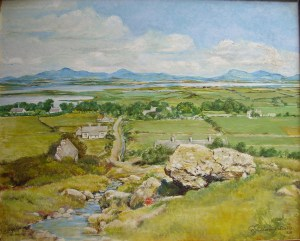 Connemara, Rosmuc County Mayo, Ireland oil painting by G S Thompson 1968