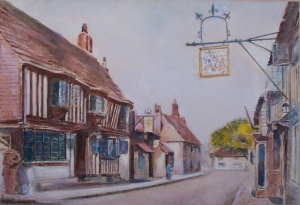 Alfristonby Noel Hill - watercolour