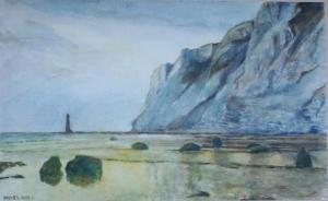 Beachy Head by Noel Hill - watercolour