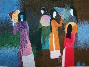 Hong Ngog - Myng He  needlework/embroidery