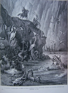 Lake of Boiling Pitchby Gustave Dore