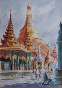 Shwedagon Pagodaby Maung Lar Ban @ 1936