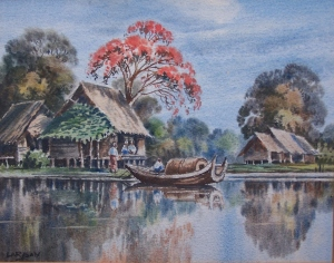 Inle Lake IIIby Muang Lar Ban @ 1936