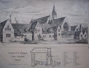 Convent of St MargaretEast Grinstead, Sussexby George Edmund Street1868