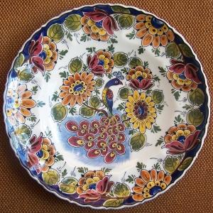 Royal Delft Plate by Henk van Wensveen