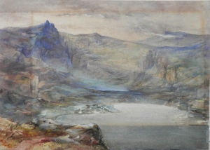 A Mountain Lake unknown artist
