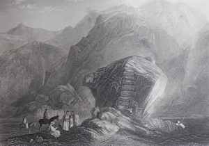 The Desert of Sinai drawn by JMW Turner E Finden sculpt
