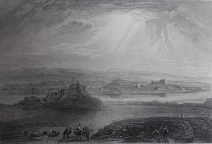 Nineveh drawing by JMW Turner W Radcliffe engraving