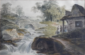 Welsh River Scene by William Payne