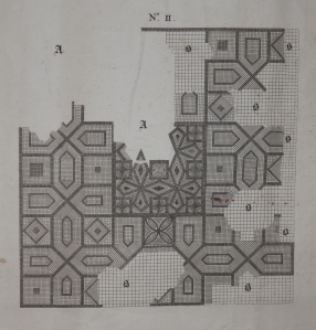 Mosaic II engraved by J Cole @ 1738