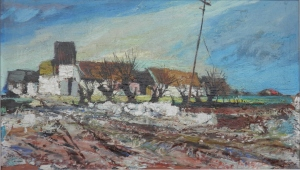 Farm Buildings, Ulster by Kenneth Webb