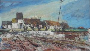 Farm Buildings, Ulster by Kenneth Webb