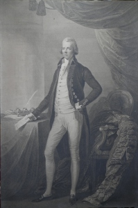 The Right Hon. William Pitt etching by William Bromley 1808