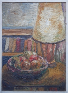 Still Life with Lampshade by M R Wyman 1957