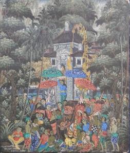 Sayan-Baung by Nyoman Tapa Ubud, Bali