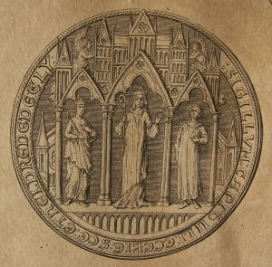 Sigillum of Ely Cathedral - side A