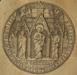 Sigillum of Ely Cathedral - side B