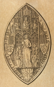 Seal of Clare College, Cambridge
