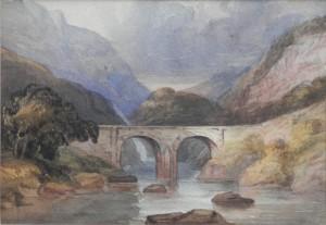 Double Arched Bridge artist unknown
