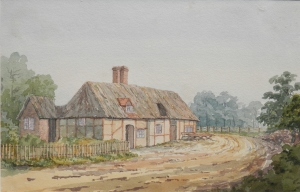 Barley Mow in Clifton Hampden by Thomas Bushby 1887