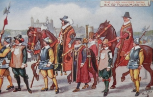 The Lord Mayor's Show postcard by Raphael Tuck & Son @ 1907