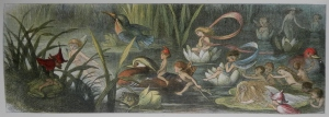 Water-Lillies and Water Fairies by Richard Doyle 1870