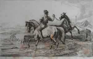 A Napoli etching by Johann Adam Klein @ 1844