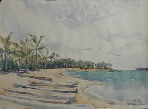 Karaitivu, Ceylon by M G Prater 1945