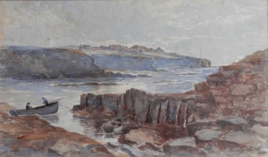 Old Hartley from St Mary's Island by Charles Smith @ 1924