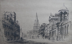 Oxford High Street by G Huardel-Bly
