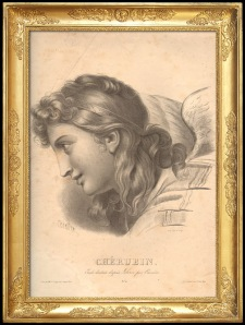 Cerubin etching after Carriere @1800