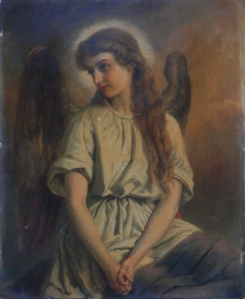 Angel unsigned/undated