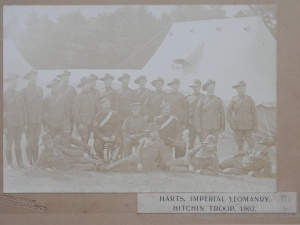 Harts. Imperial Yeomanry Hitchin Troop 1902