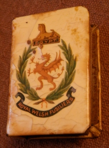 Royal Welsh Fusiliers Matchbox