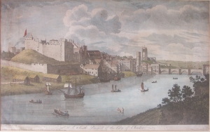 South View of the City of Chester by John Boydell @1749