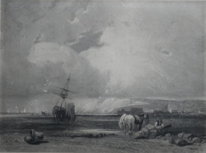 On the Coast of Picardy unknown etcher @ 1830