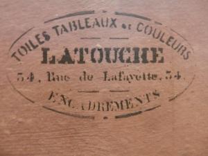 Latouche Stamp @1860-1885