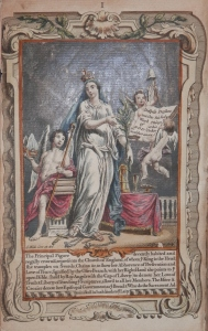 Book of Common Prayer Illustrated Page @ 1755