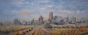 Ely Cathedral by Hilda Cooper