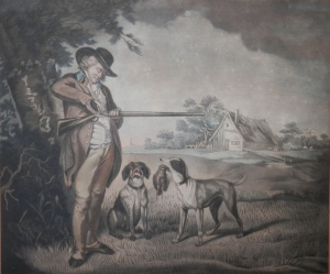 Partridge Shooting  George Morland pinx  @ 1798