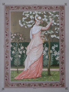 Cherry-Ripe by Walter Crane from 'The Quiver of Love' 1876
