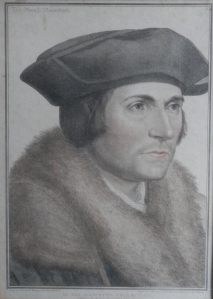 Thomas More, Lord Chancellor stipple engraving by Francesco Bartolozzi  @ 1793