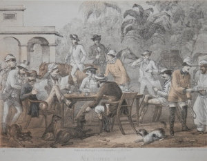 Our Coffee Shop by Capt G F Atkinson @ 1859