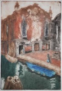 Forgotten Square, Venice by Jenny Sanders