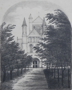 St. James the Great Church, Morpeth by unknown artist @ 1850