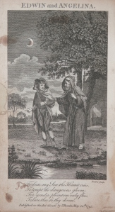 Edwin and Angelina - etched by Barlow @ 1793