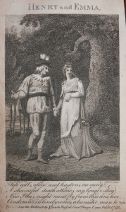 Henry and Emma - drawn by Isaac Cruikshank - etched by Barlow @ 1793
