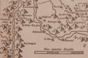 Rempublicam Basileensem typometric map by Wilhelm Haas @ 1776
