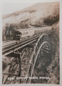 Stoney Creek Bridge photograph by Byron Harmon