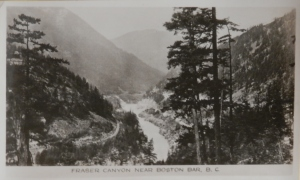 Fraser Canyon sceneograph by The Gowah Sutton Company